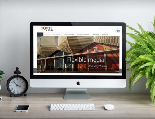 CGATE Group – Website Design