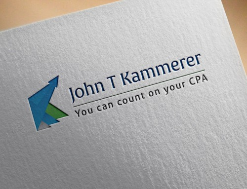 John T Kammerer – Accountant Logo Design