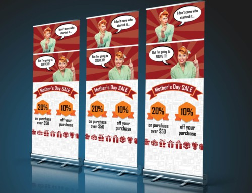 Solve It Puzzles – RollUp Stand Banner Design