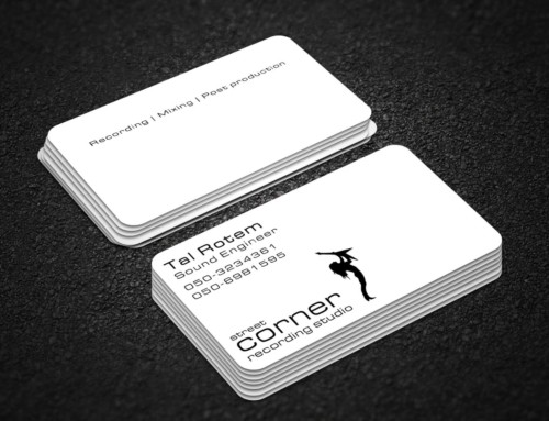 Street Corner – Business Card Design – Two Sided
