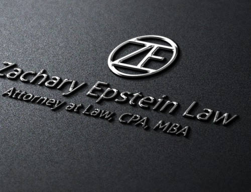 Zach Epstein – Lawyer Logo Design