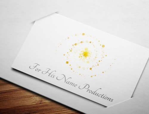 For His Name Productions – Logo Design