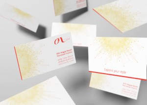 OhN_STYLE_Personal_Stylist_Business_Card_Design_Two_Sided_Mockup_by_UziMedia