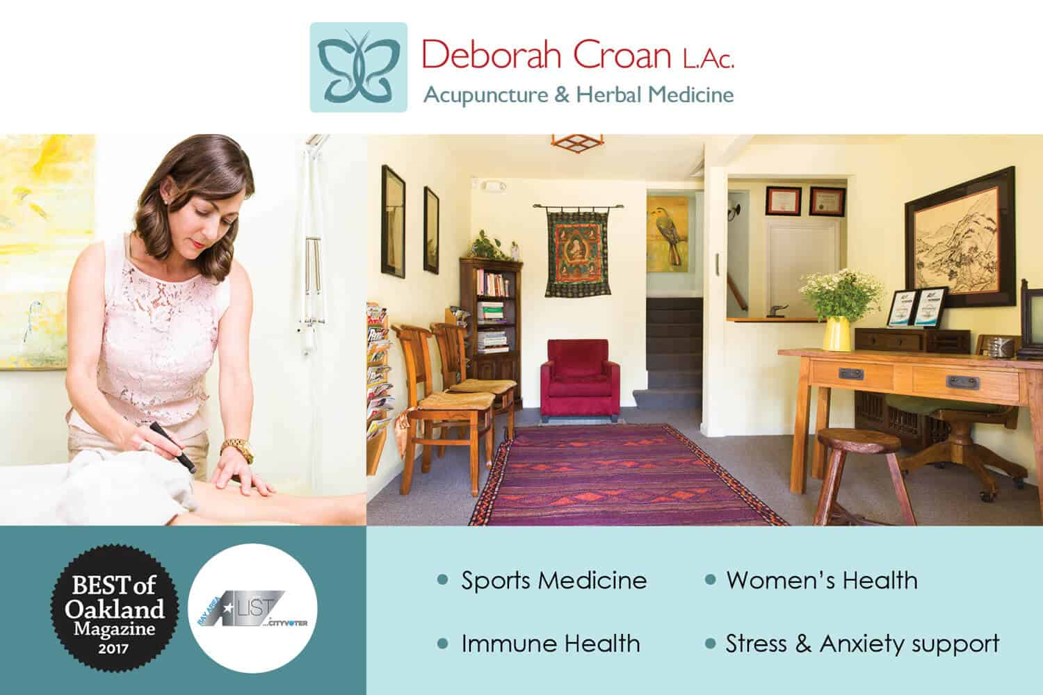 Flyer_Design_Front_Deborah_Croan_Acupuncture_by_UziMedia