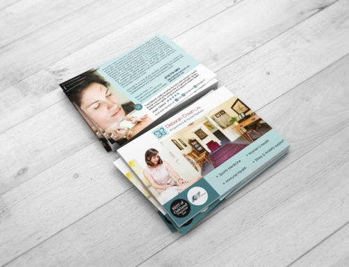 Deborah Croan Acupuncture – Flyer Design