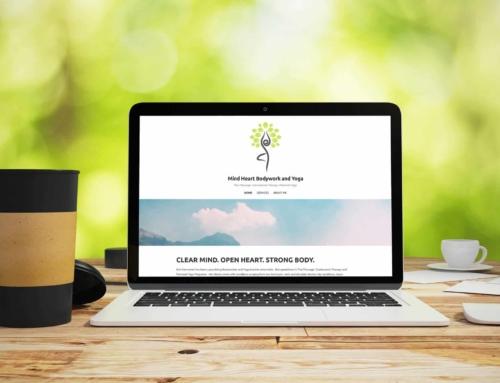 Mind Heart Bodywork and Yoga – Web Design
