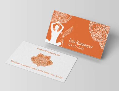 Erin Kammerer – Business Card Design