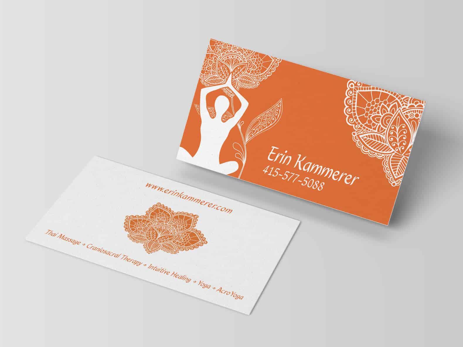 Erin Kammerer – Business Card Design