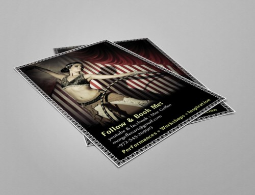 Mor Geffen – Flyer Design 2