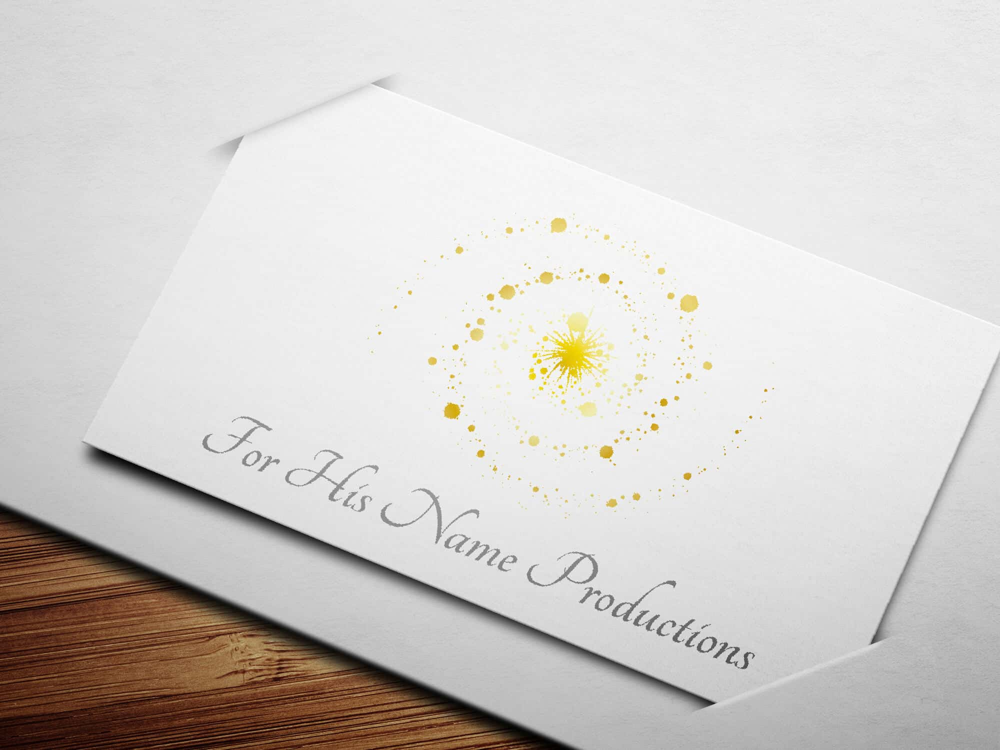ForHisNameProductions_Logo_Design_Mockup_By_UziMedia