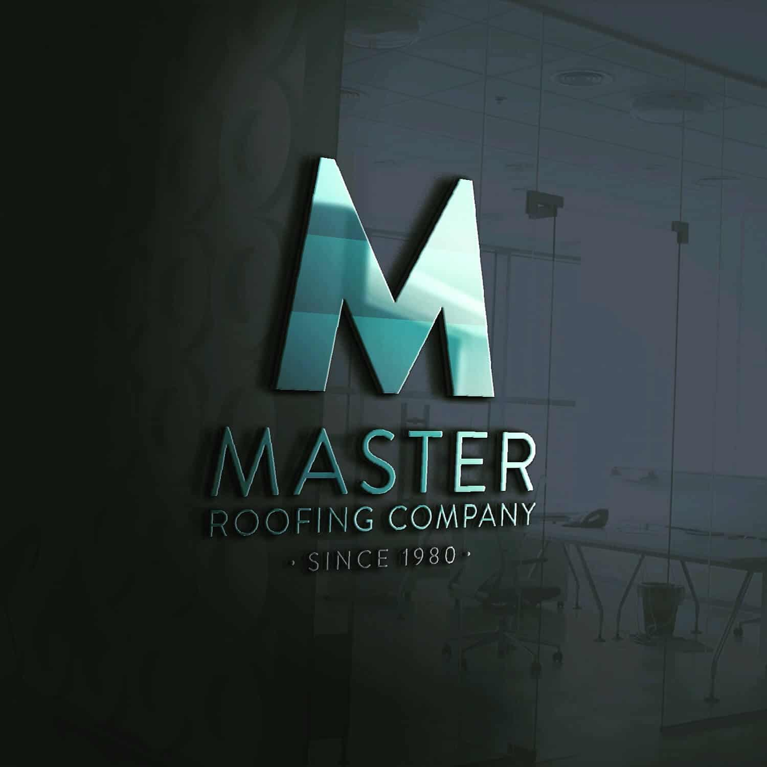 Master Roofing Company – Logo Design