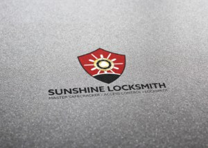 SUNSHINE_LOCKSMITH_Logo_Design_Mockup_By_UziMedia