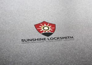 SUNSHINE_LOCKSMITH_Logo_Design_Mockup_By_UziMedia