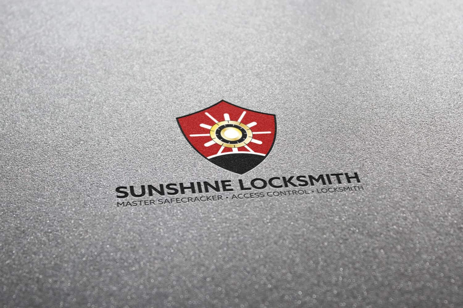 SUNSHINE LOCKSMITH – Logo Design