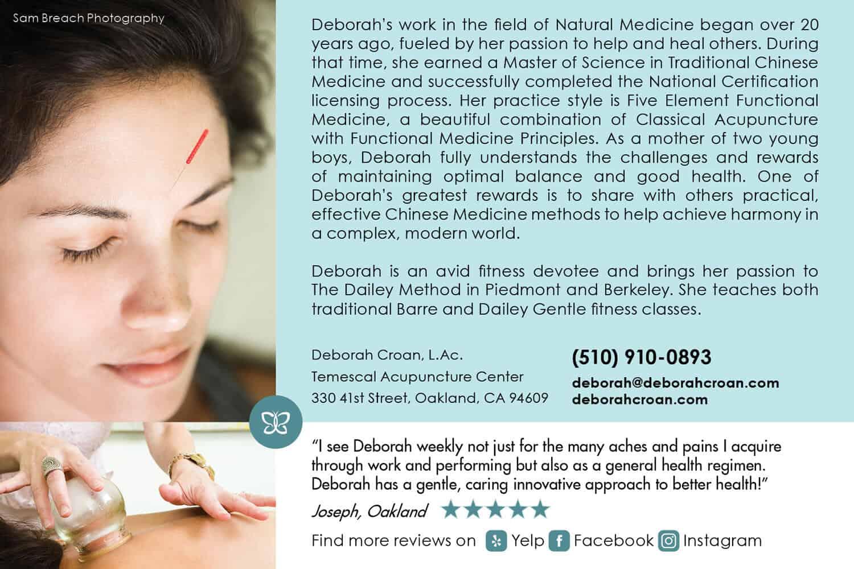 Flyer_Design_Back_Deborah_Croan_Acupuncture_by_UziMedia