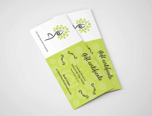 Erin Kammerer – Gift Certificate Design