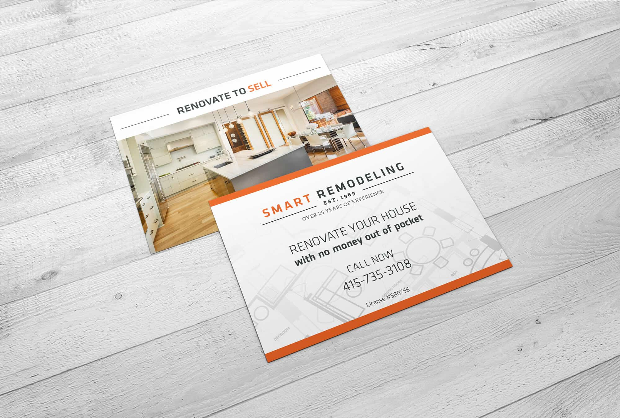 Smart Remodeling – Flyer Design