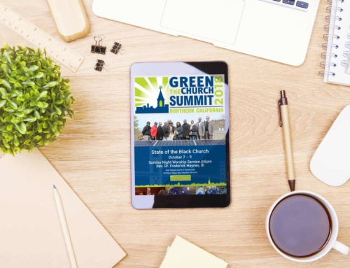 Web Design – Landing Page for Green The Church Summit 2018