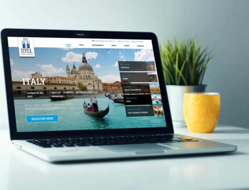 Web Design – Travel Agency – Tiyul Jewish Journeys
