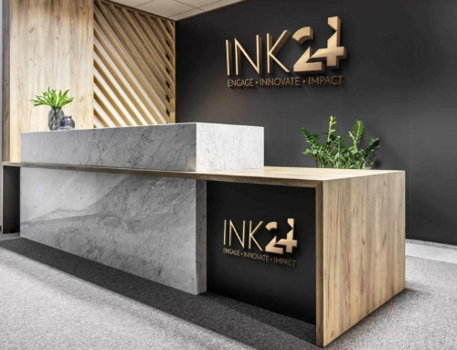 Logo Design for INK24 a Viral News Company