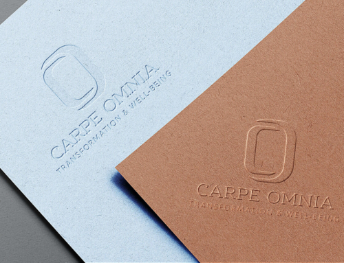 Logo Design for Carpe Omnia – Transformation · Life Coaching · Wellness & Wellbeing