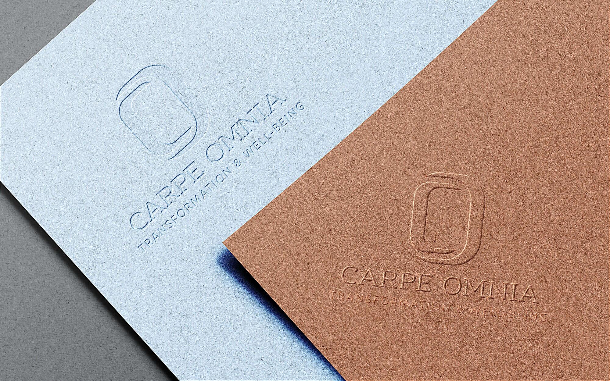 Logo Design For Carpe Omnia Transformation Life Coaching Wellness Wellbeing Uzimedia Graphic Logo Web Design In The Bay Area