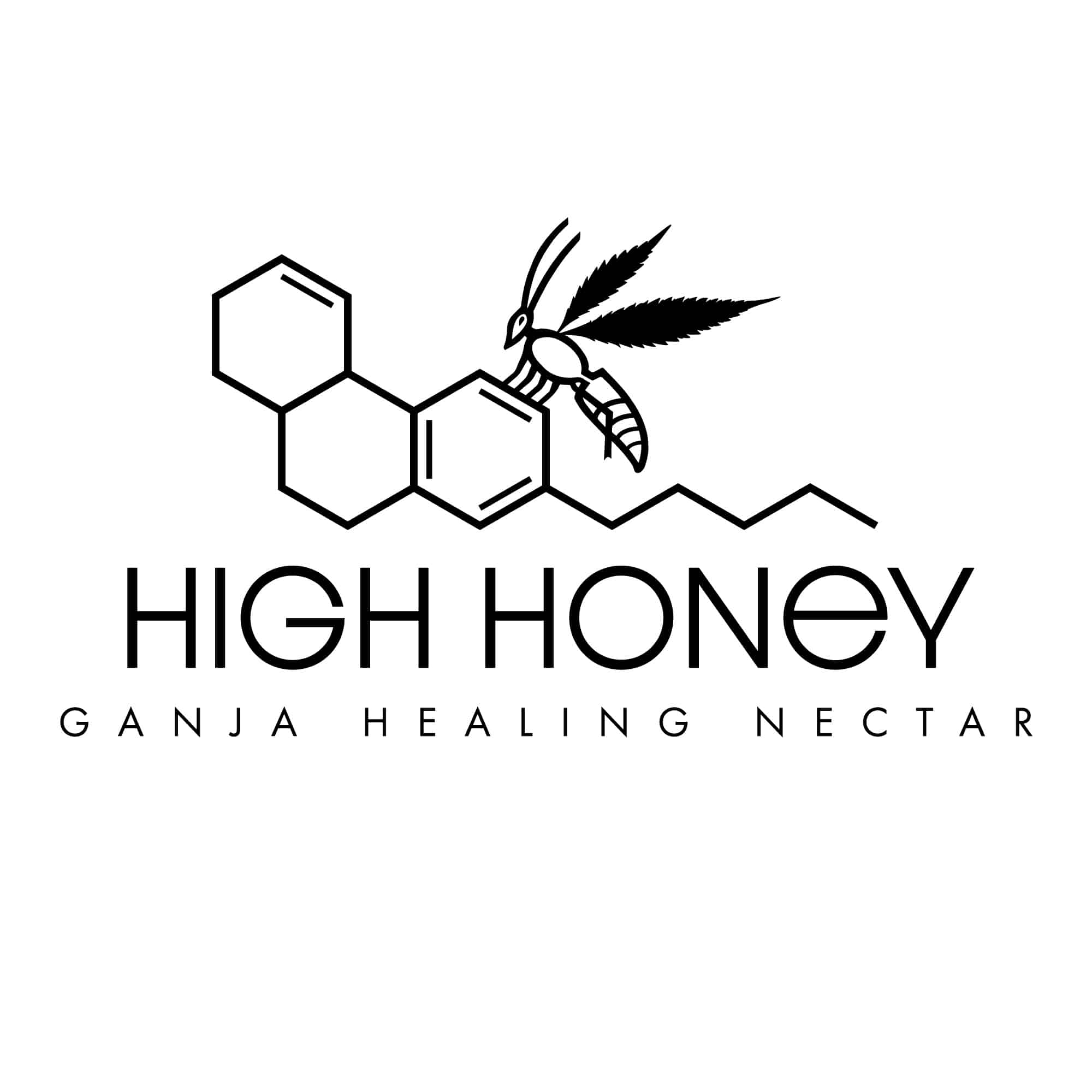 Logo Design for High Honey Cannabis Company by UziMedia