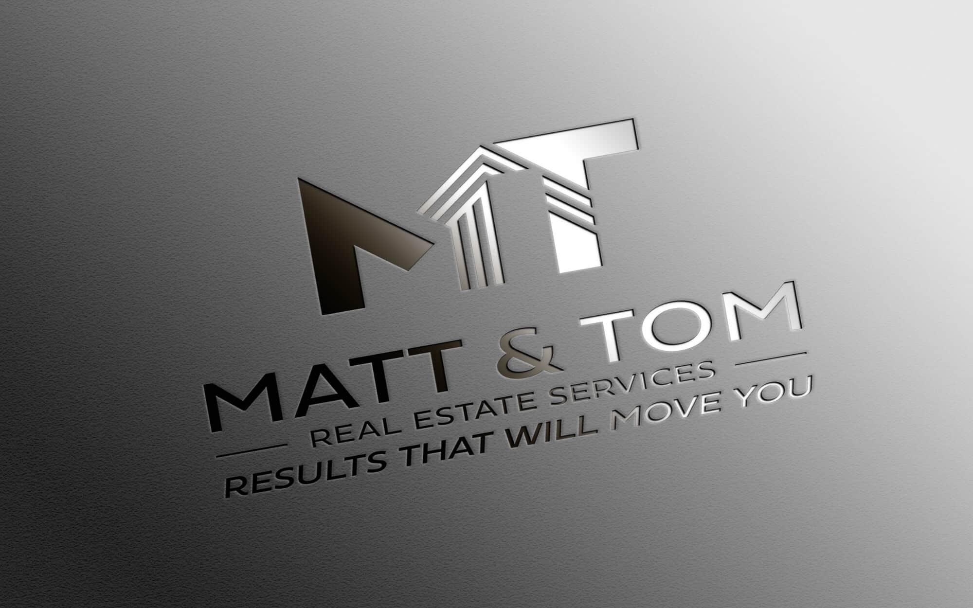 Logo Design for Realtors & Real estate agents - Matt & Tom ...
