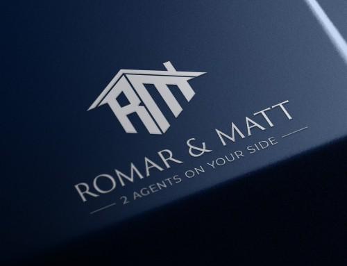 Logo Design for Realtors & Real estate agents :: Romar & Matt