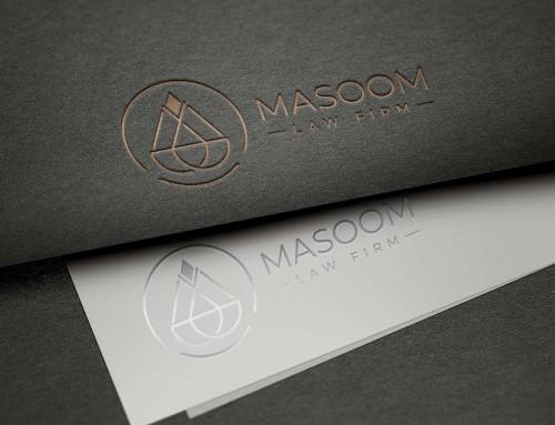 Dup_ Logo Design for MASOOM Law Firm