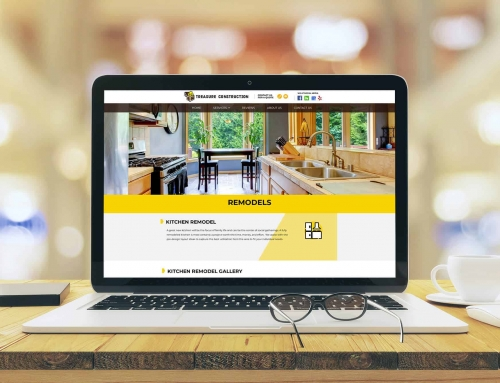 Web Design for Construction Remodeling Company – Treasure Construction