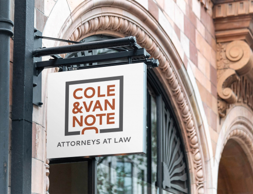 Logo Design for a Law Firm :: COLE & VAN NOTE
