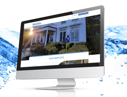 Web Design for a Cleaning Company :: Wash me